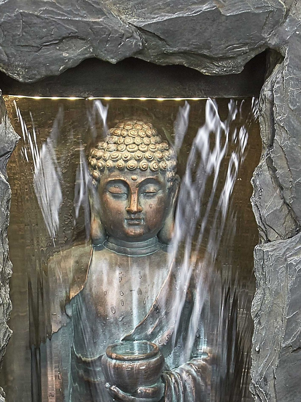 Cascading Buddha Water Feature Waterfeatures Com