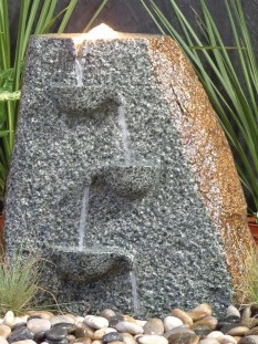 Natural Water Drop Granite Garden Water Feature