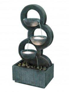Stacked Circular Bowls