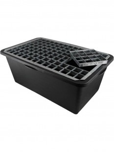 Reinforced Heavy Duty Pebble Pool 72cm x 40cm With Galvanised Steel Grid