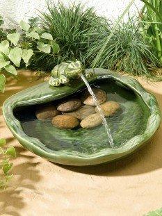 Frog Fountain Garden Water Feature