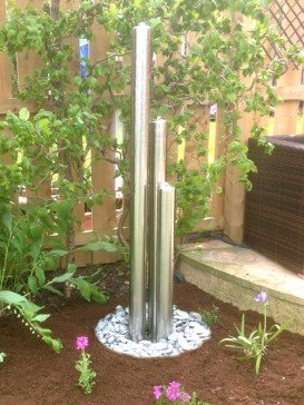 Tresa3 Stainless Steel Tubes With Pebble Pool