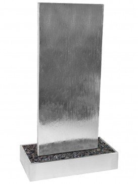 Staffora1 by Aqua Moda in Stainless Steel Base Water Feature