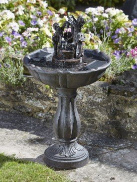 Tipping Pail Fountain by Smart Solar 1150110