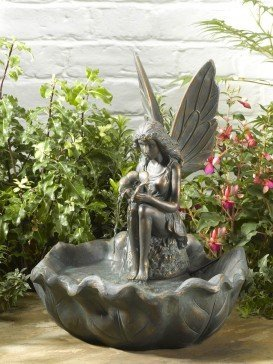 Fairy Leaf Fountain by Smart Solar Garden Water Feature