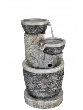 Slate Bowls Water Feature