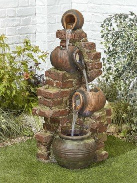 Flowing Jugs Water Feature