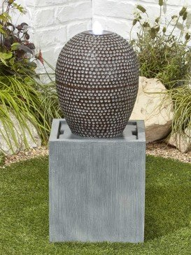 Dapple Cascade Water Feature with LED Lights by Kelkay