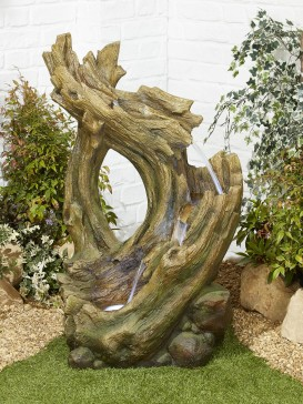 Knotted Willow Falls Water Feature