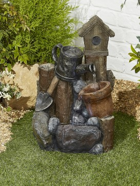 Country Garden Pour Water Feature