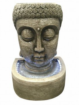 Classic Buddha Head Water Feature