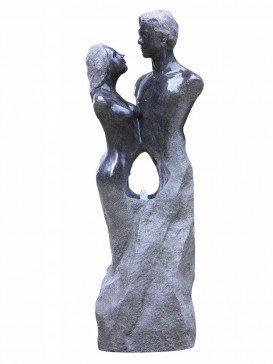 Loving Granite Couple Water Feature