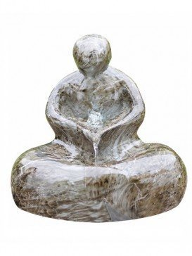 Marble Effect Sitting Man Water Feature