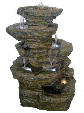 Six Fall Slate Large Water Feature