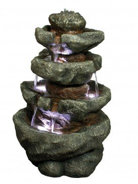 Multifall Rock (360 Degrees) Water Feature