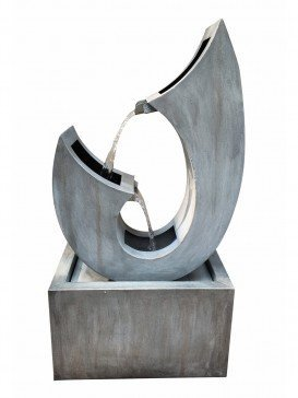 Trento Zinc Metal Water Feature