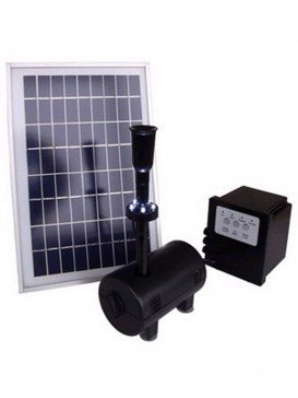 800LPH Solar Power Pump with LED light