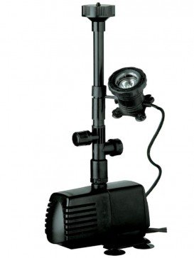 Libel Xtra 1000LPH Water Pump with Halogen Light