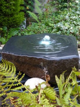 Babbling Basalt Water Feature