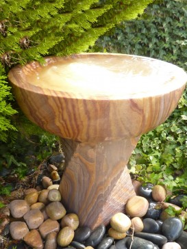 Cascading Twist with Babbling Bowl Water Feature