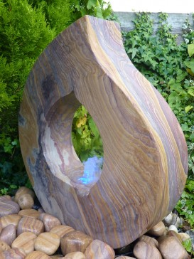 Rainbow Babbling Flame Water Feature