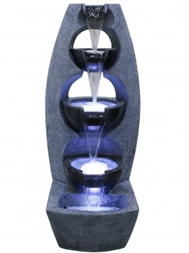 Chester Stacked Bowls Water Feature by Aqua Creations