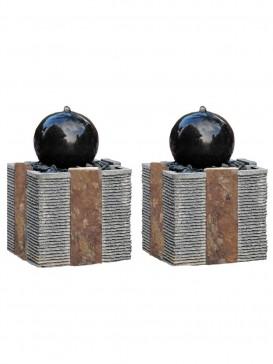 Doppio Drava Granite Water Feature