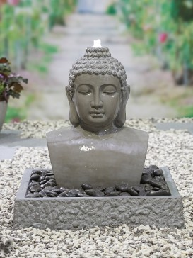 Lotus Buddha Water Feature