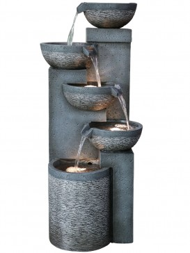 Greenville Pouring Bowls Water Feature by Aqua Creations