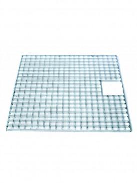 Square Galvanised Steel Grid 80cm By Ubbink Garden