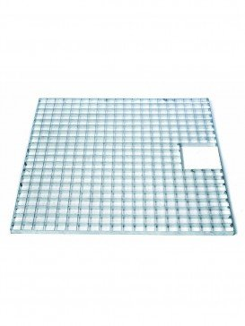 Square Galvanised Steel Grid 60cm Ubbink Garden
