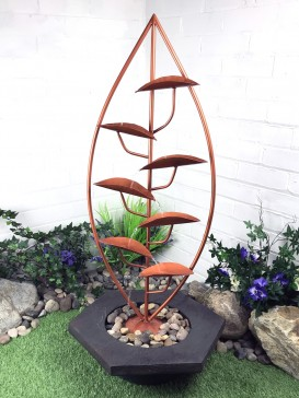 Solar Holmfirth Copper Cascade Water Feature