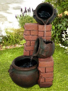 Mini Spilling Jugs Water Feature