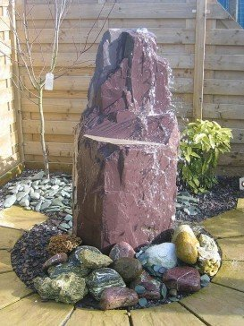 Slate Monolith Water Feature 50cm - 70cm