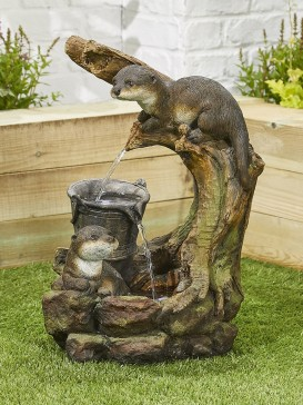 Otters Element Water Feature