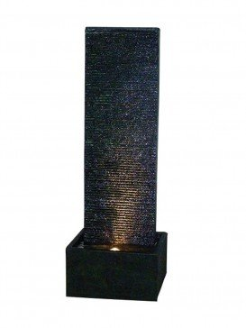 Black Ripple Sheet Water Feature By Aqua Creations