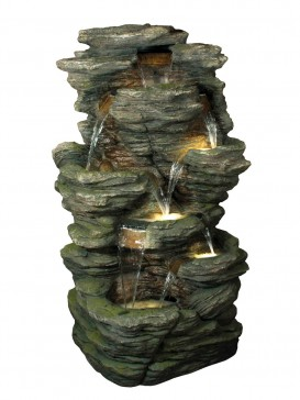 Eight Fall Slate Water Feature