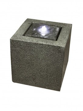 Grey Granite Cube Water Feature