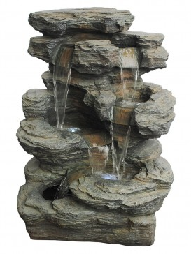 Large Slate Multi Fall Water Feature