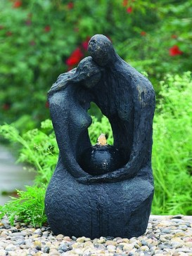 Comforting Couple Water feature By Aqua Creations