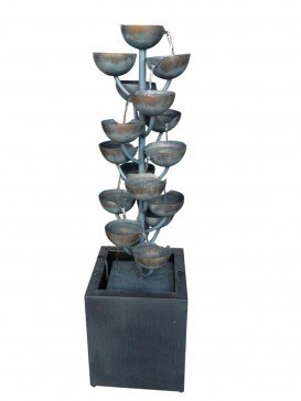 Modena Zinc Metal Water Feature