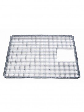 73.5cm x 58.5cm Rectangular Galvanised Steel Grid