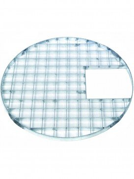 112cm Round Galvanised Steel Grid For Water Features