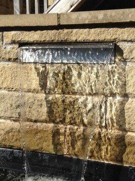 1500mm Stainless Steel Garden Water Cascade