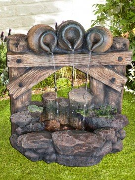 Trickling Trio Water Feature