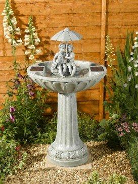 Umbrella Fountain Garden Water Feature