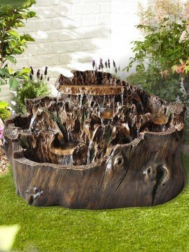 Walnut Cascade Water Feature