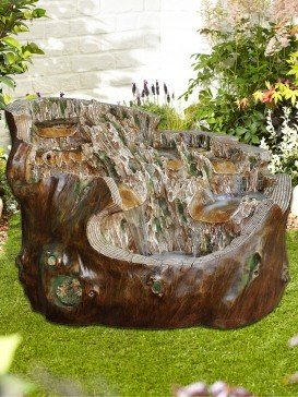 Walnut Spills Water Feature
