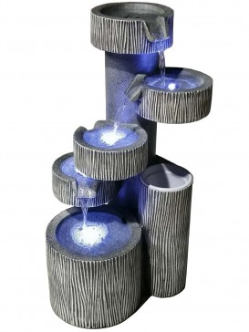 Wyoming Stacked Bowls Water Feature by Aqua Creations