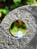 Yin Yang by Aqua Moda Granite Water Feature With LED Lights, Pebble Pool & Cobbles Kit